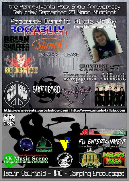 PA Rock Show anniversary 8 Sept 29, 2012