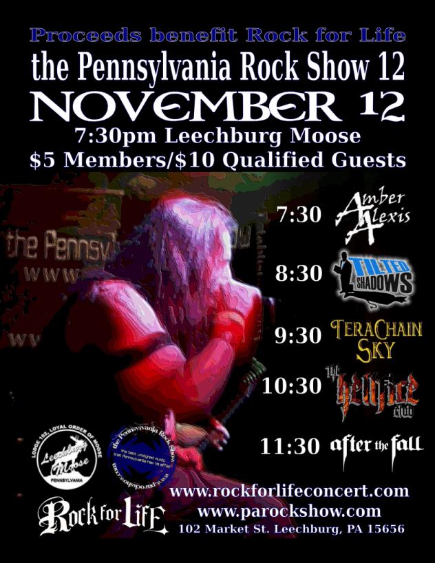 PA Rock Show 12 Nov 12, 2016